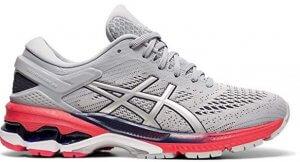 Asics Gel-Kayano 26 Women's Shoe for Flat Feet