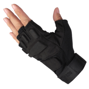 Hand with a Finger less Parkour Glove on it