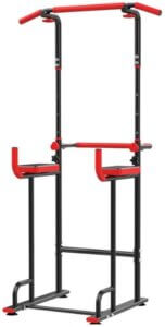 CHENNAO Power Tower Exercise Equipment Durable Adjustable